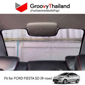 FORD FIESTA Gen6 Sedan R-row