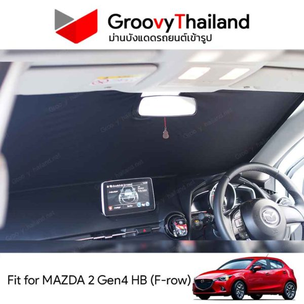 MAZDA 2 Gen4 HB F-row
