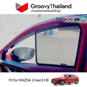 MAZDA 3 Gen3 BM Hatchback SnapOn