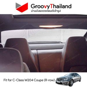 MERCEDES-BENZ C-Class W204 Coupe R-row