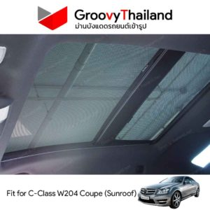 MERCEDES-BENZ C-Class W204 Coupe Sunroof