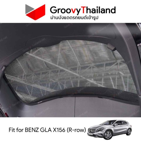 MERCEDES-BENZ GLA-X156 R-row