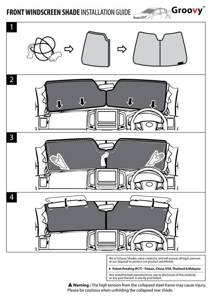 Front Shade Manual