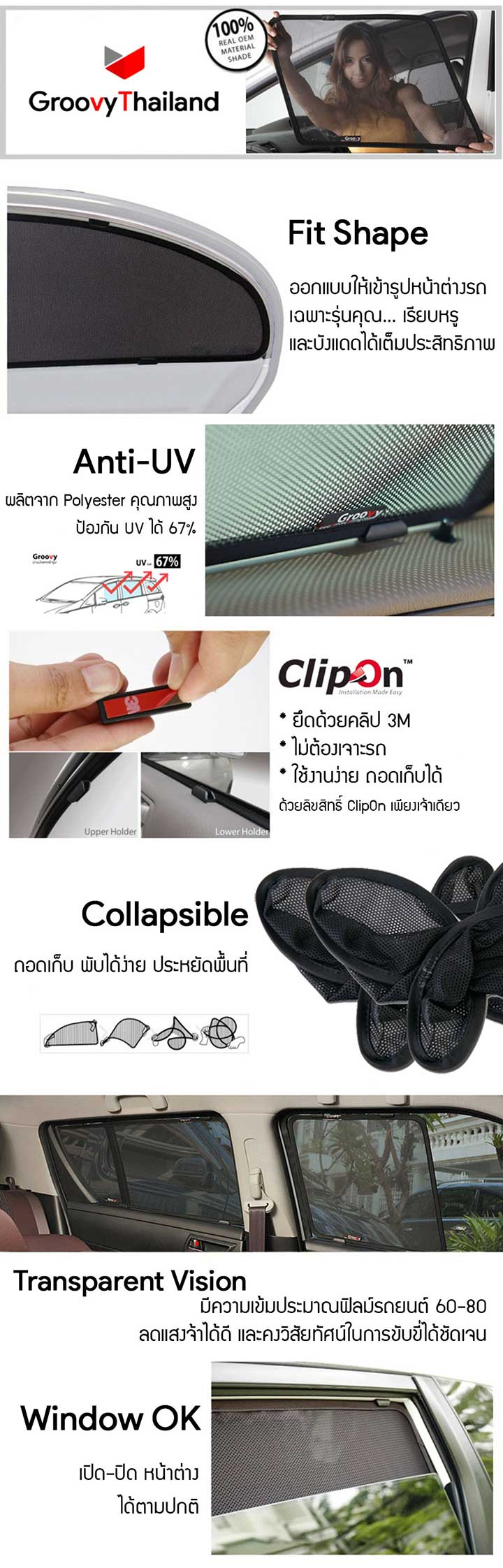 ClipOn frature